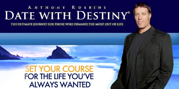 anthony robbins date with destiny
